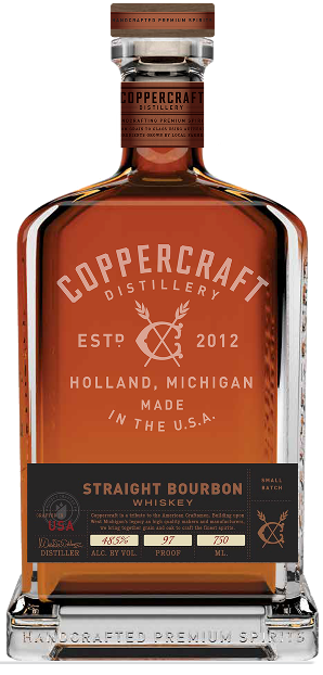 Coppercraft Distillery Straight Bourbon