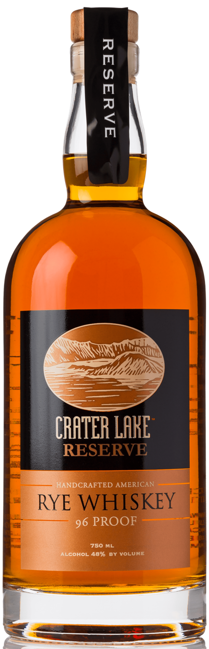 Crater Lake Reserve Rye Whisky