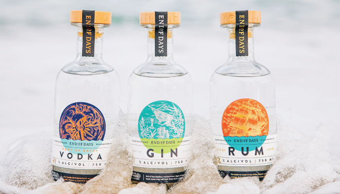 Port of entry vodka gin rum