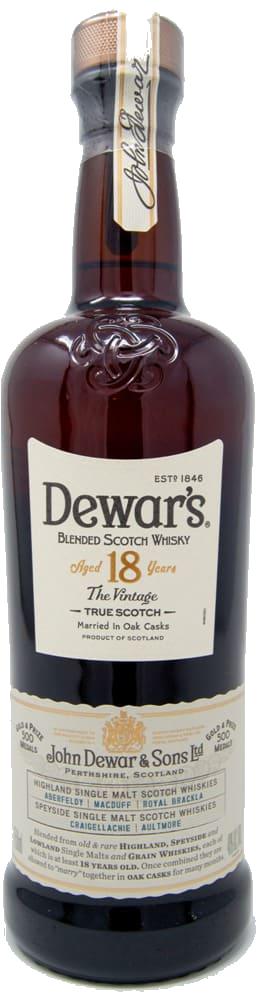 Dewar's 18 YEARS OLD