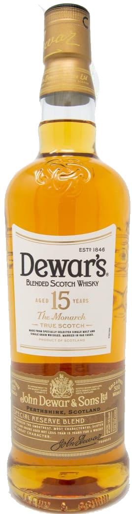 Dewar's 15 YEARS OLD Monarch
