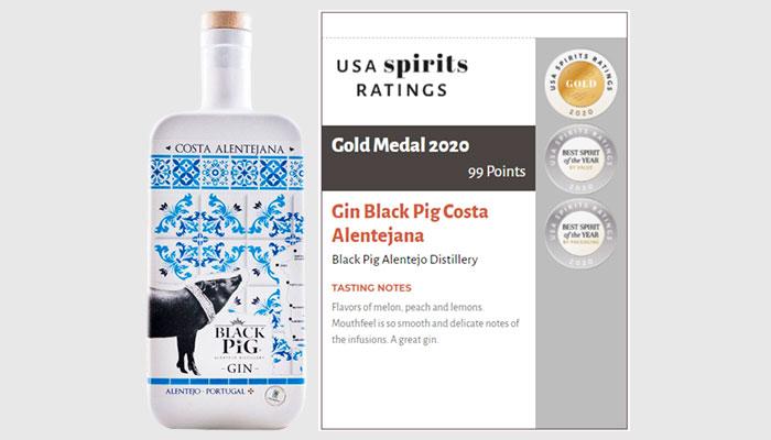 Gin Black Pig Costa Alentejana