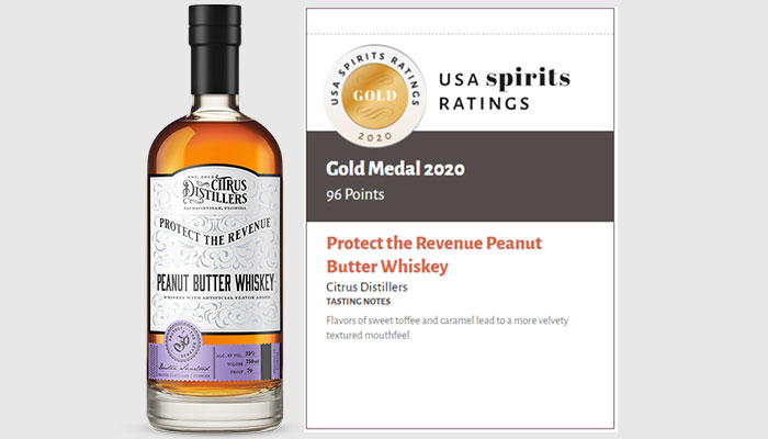 Protect the Revenue Peanut Butter Whiskey