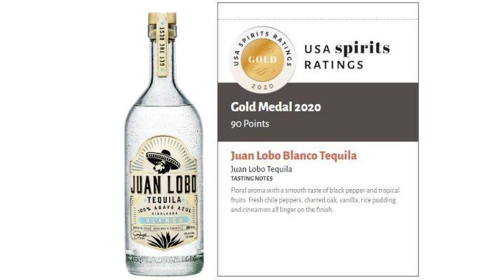 Juan Lobo Blanco Tequila