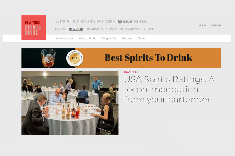 New York Drinks Guide Home Page