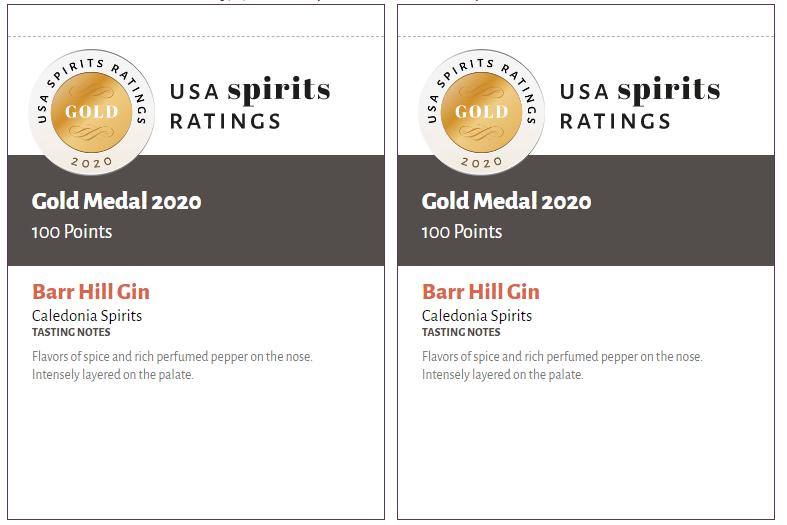 USA Spirits Ratings Shelf talkers