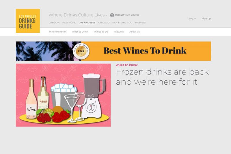 Los Angeles Drinks Guide