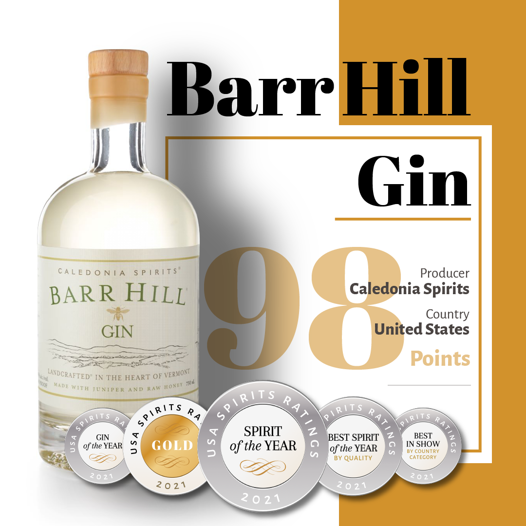 Barr Hill Gin - Spirit of the year