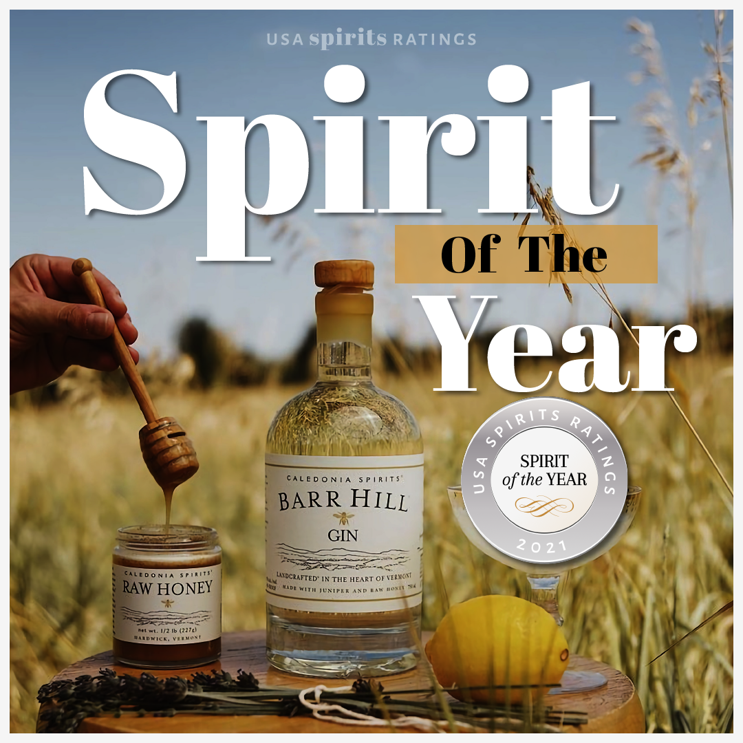 """Barr Hill Gin was awarded """"best spirit of the year"""" with 98 points"""