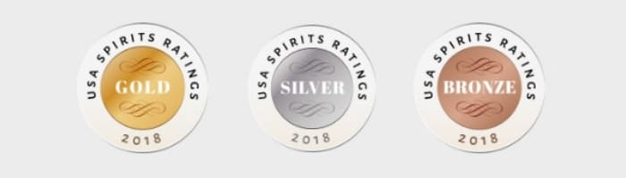 USA Spirits Ratings Medals