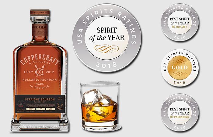 Coopercraft Distillery Straight Bourboun Whiskey