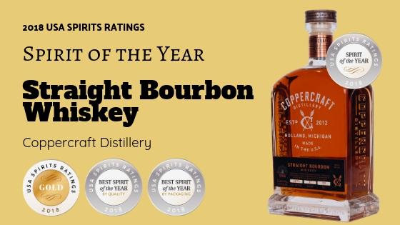 Coppercraft Distillery Straight Bourbon Whiskey