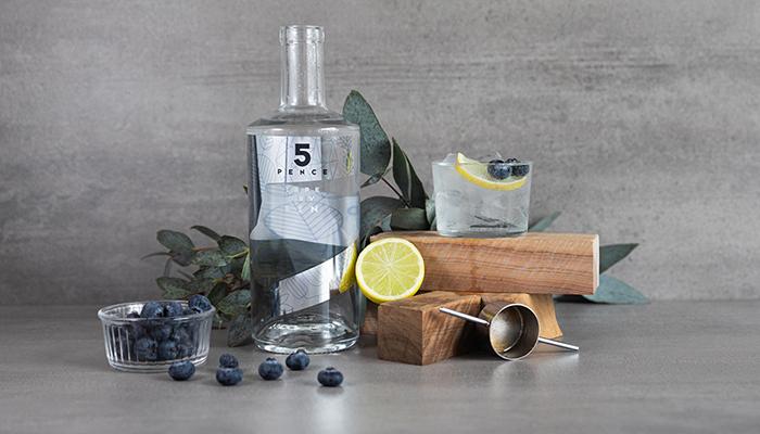5 Pence London Dry Gin